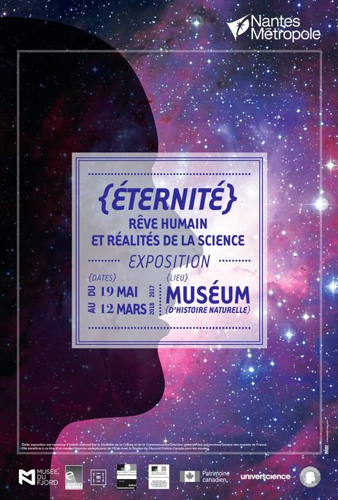 """Campagne de communication sur l'exposition """"Eternité"""""""