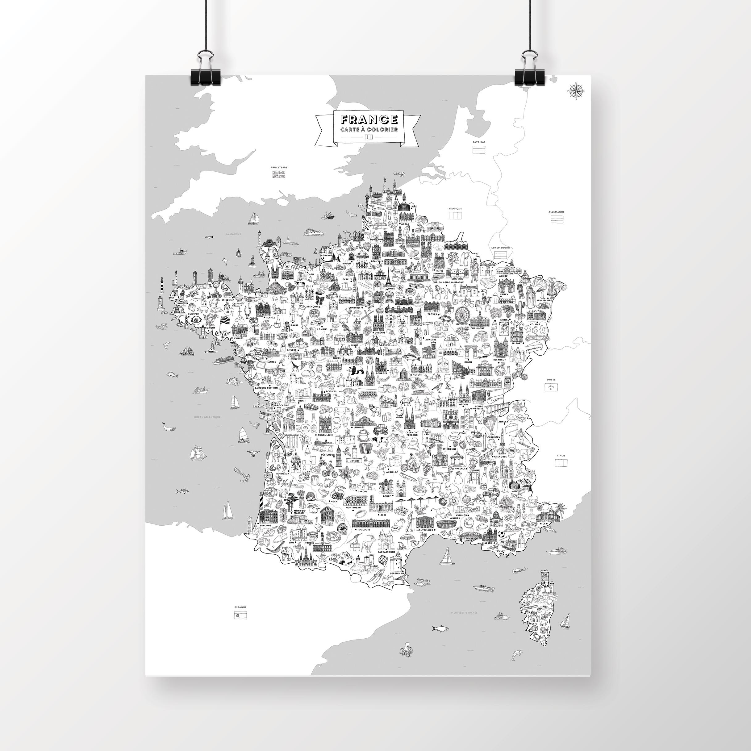 France à colorier