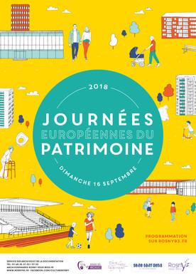 Ville de Rosny-sous-Bois (93) - Journées européennes du Patrimoine