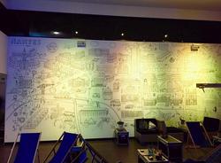 Illustration sur mur