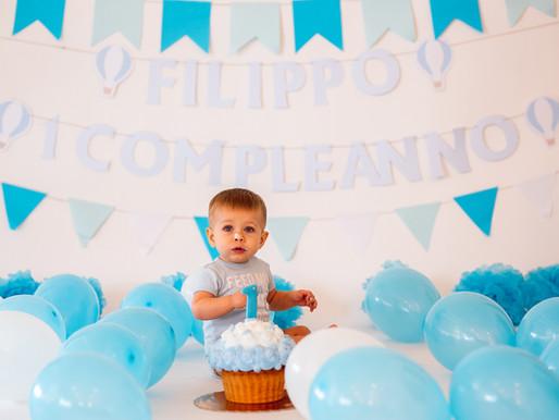 servizio fotografico SMASH THE BIRTHDAY CAKE
