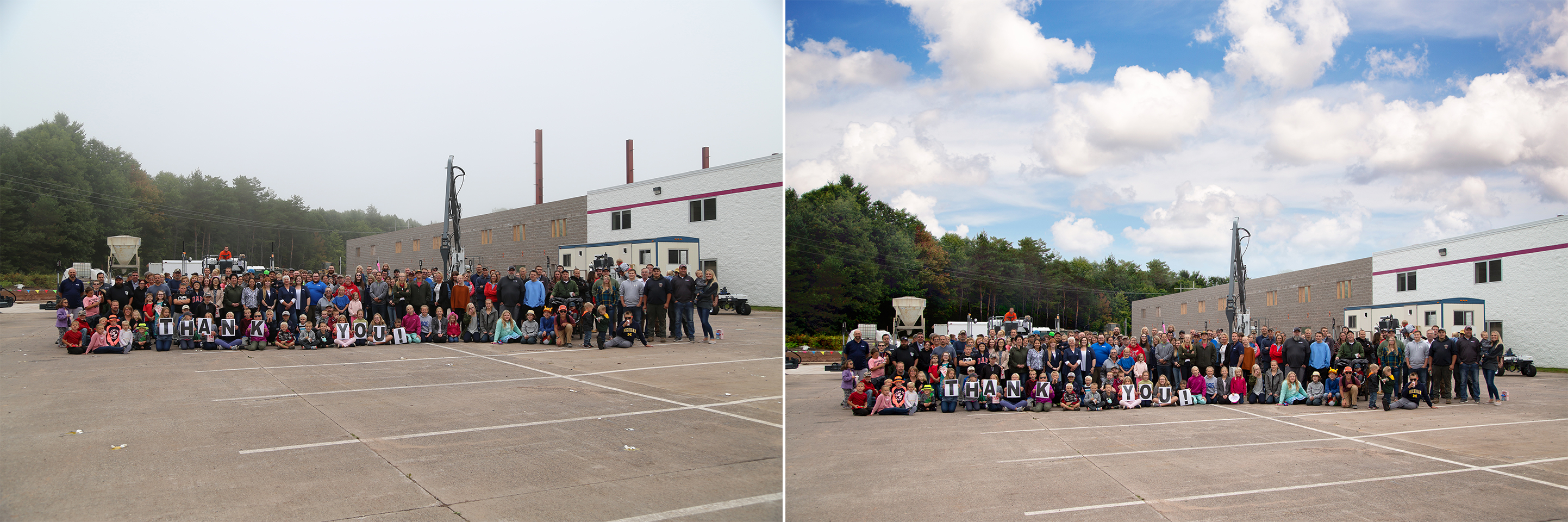 Somero 2019 Company Picnic Photo Before and After