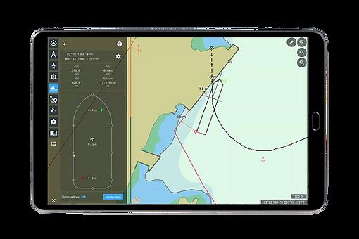 Monitoring Manoeuvring Assistant screenshot of Docking