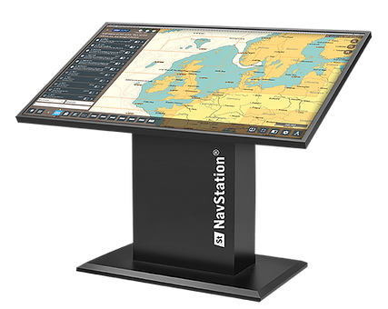 NavStation installed on chart table terminal