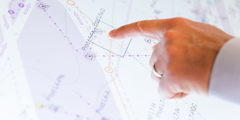 Banner image of hand on NavStation touch screen