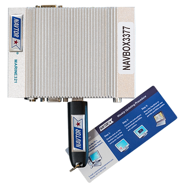 Product image of NavBox with NavStick connected