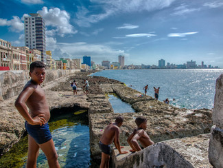 Front de mer Le Malecon La Havane Cuba