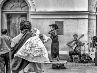 Scène de rue Quito Equateur