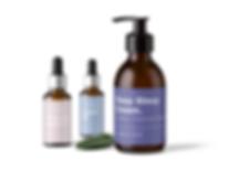 Relief Cosmetics package design