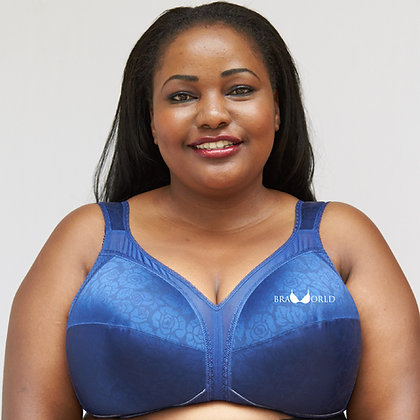 Blue 24-Hour Comfort Bra