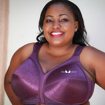 Purple 24-Hour Comfort Bra
