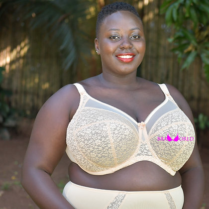 Sand Full Cup Bra (Band 34 - 38)