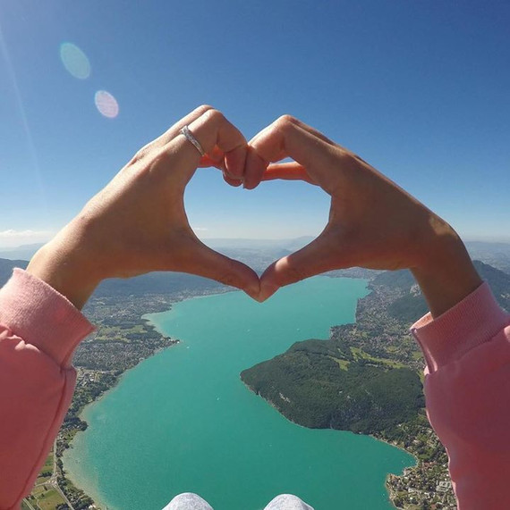 Ich liebe Annecy und seinen See