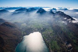 Ende des Annecy-Sees