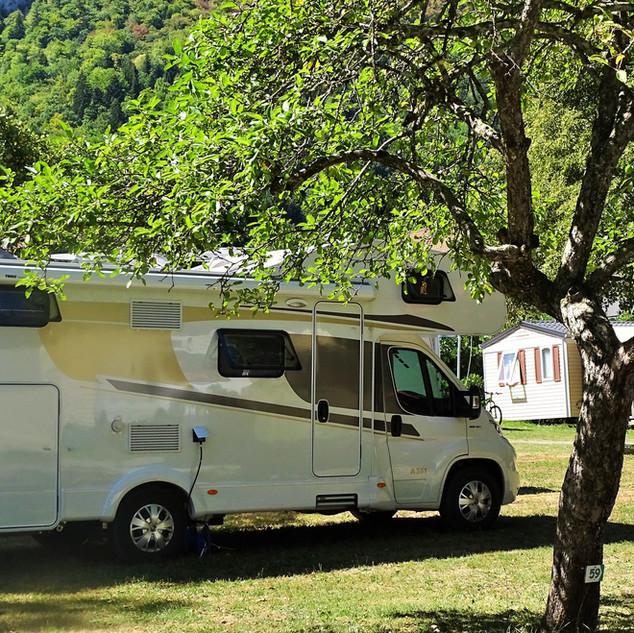 Caravan or Camping Car pitches