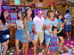 karaoké en famille