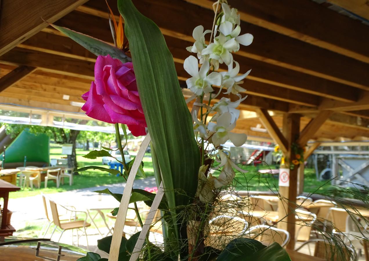 Flowered Snack