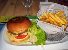 Savoyer hausgemachter Hamburger