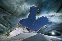 Ice Cave Night