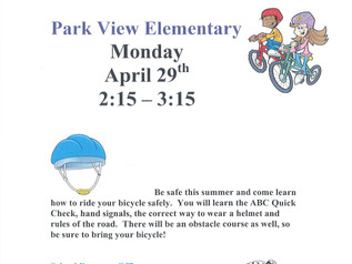 Bicycle Rodeo - 4/29/19