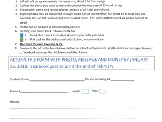 Love Line Forms - Due 1/26/18