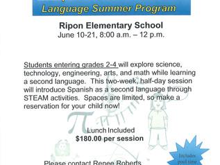 Steam Spanish Language Summer Program, June 10-21