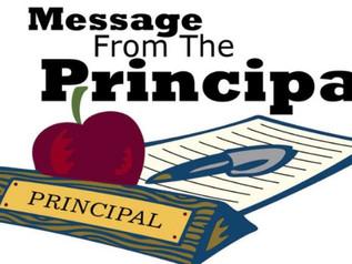 Night with the Principal - 9/24/19 @ 6:30pm