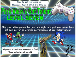 Talent Show - 5/2/19