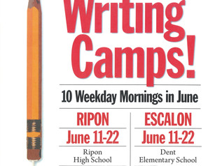 Great Valley Writing Camp - 6/11-6/22/18