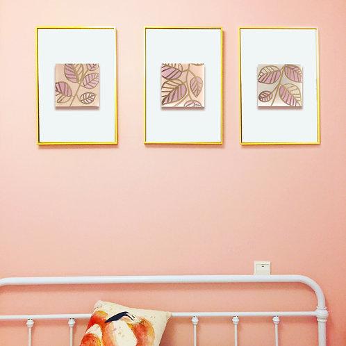 Leaf Triptychs