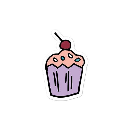 Pink / Purple Cupcake