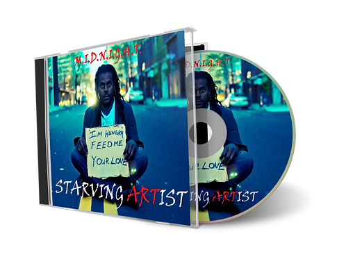 The Starving Artist -CD