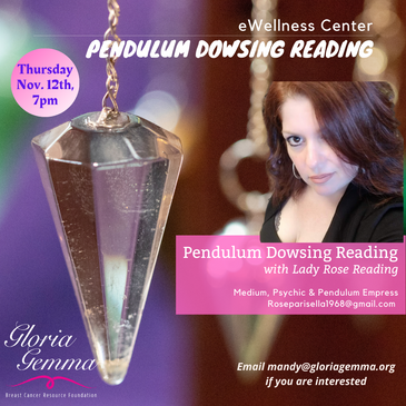 Card Readings - Pendulum Dowsing