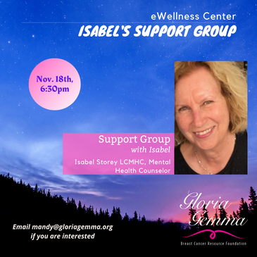 Isabel's Support Group Nov.18