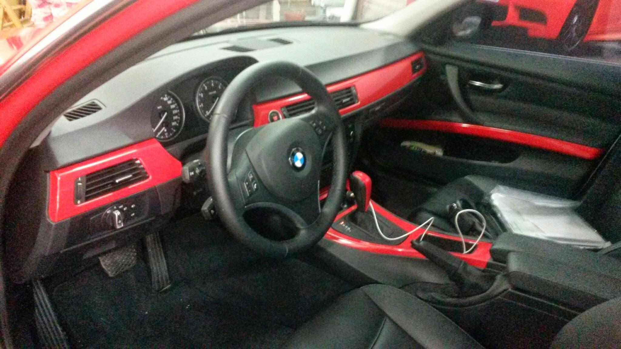 BMW ENVELOPAMENTO VERMELHO