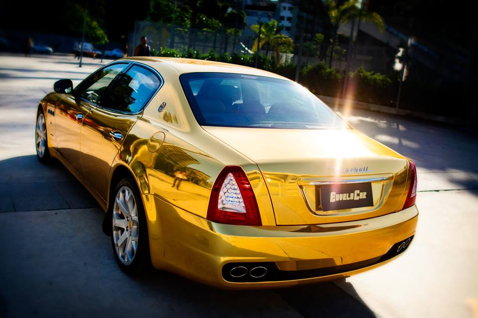 MASERATI CHROME GOLD AVERY