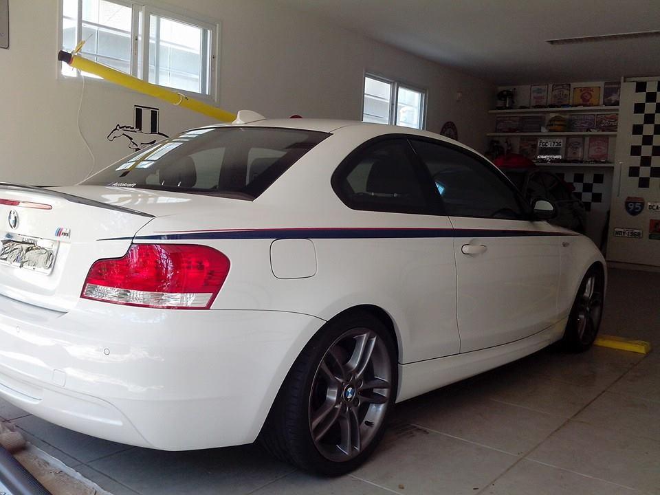 BMW 1M APLICAÇÃO INSULFILM