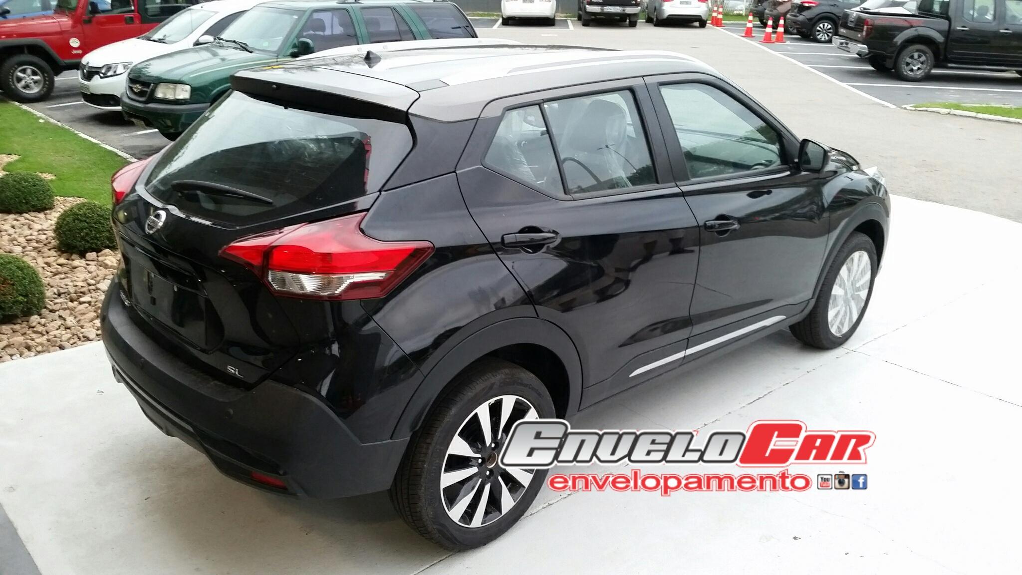 Envelopamento de Teto Nissan Kicks