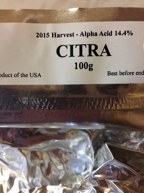 Citra (USA) Hops 100grams