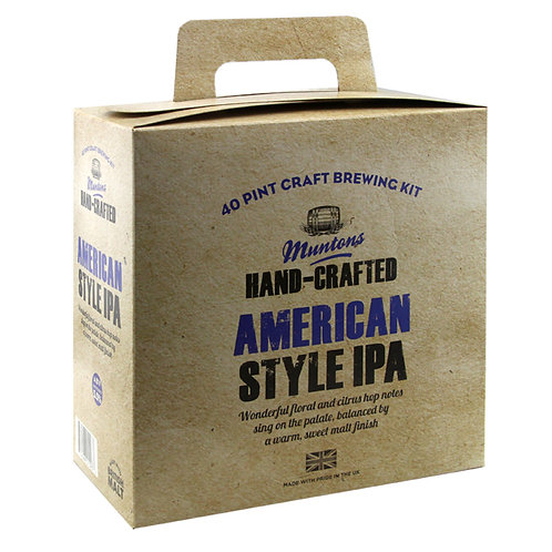 Muntons Hand-Crafted American Style IPA
