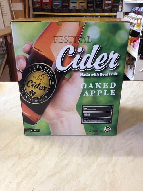 Festival Oaked Apple Cider
