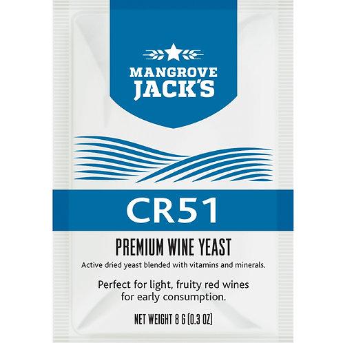 Mangrove Jack's Wine Yeast - CR51 8g