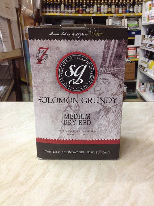 Solomon Grundy Medium Dry Red 30 bottle kit