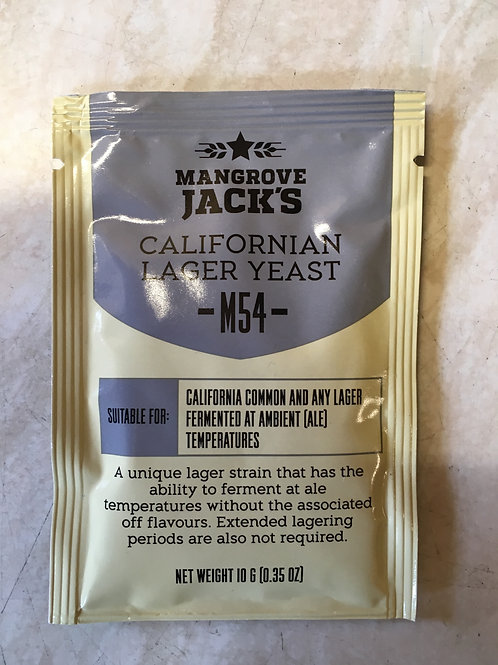 Mangrove Jack's Craft Series Yeast - California Lager (10g)