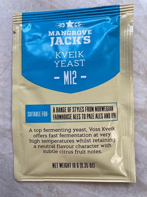 Kveik Yeast M12