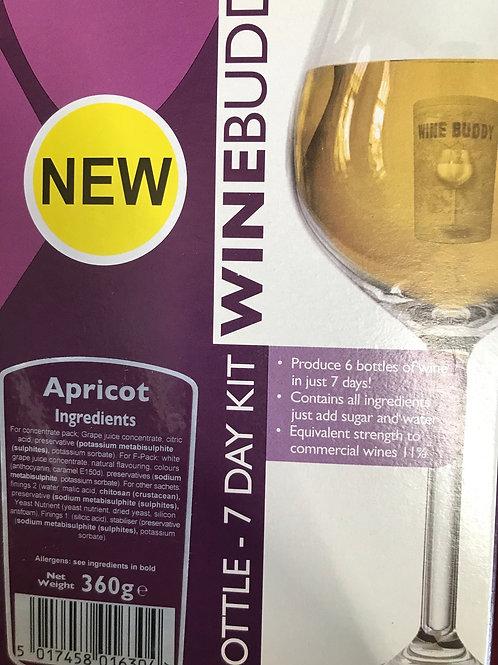 Winebuddy Apricot 6 bottle kit