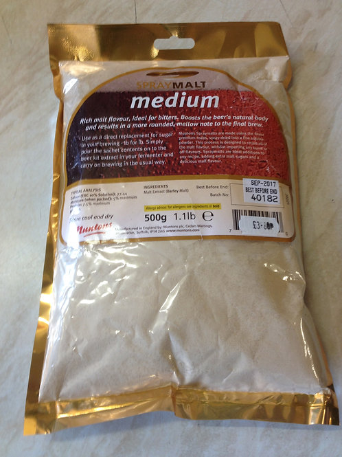 Medium Spray Malt 500grm