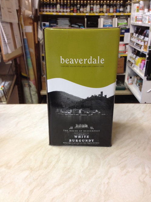 Beaverdale White Burgundy 30 bottle kit (6 litres)