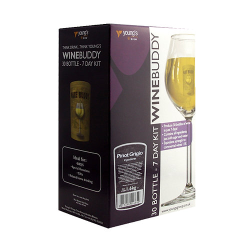 WineBuddy 30 Bottle Pinot Grigio