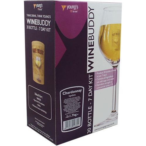 WineBuddy Chardonnay 30 bottle kit